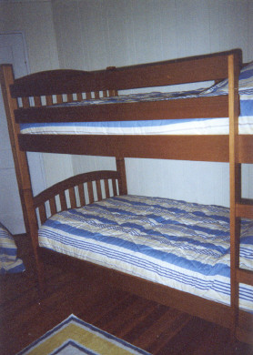 West Harwich Cape Cod vacation rental - Third Bedroom with 1 Single Bed and 2 Bunks