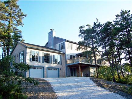 North Truro Cape Cod vacation rental - Back of house