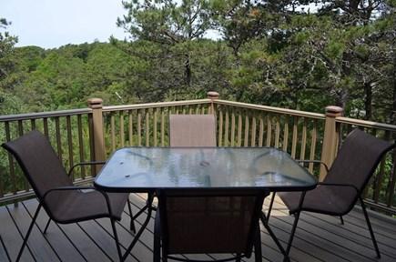 North Truro Cape Cod vacation rental - Deck off the kitchen
