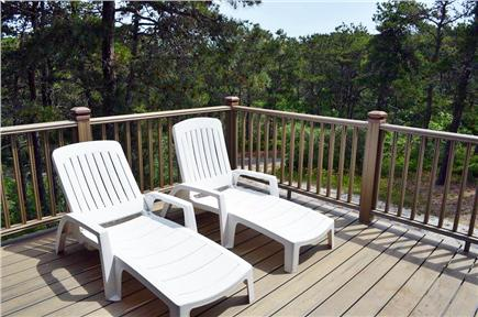 North Truro Cape Cod vacation rental - One of the decks
