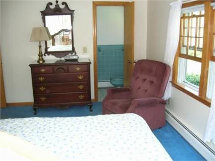Dennis Cape Cod vacation rental - Master Bedroom with King Bed,  A/C and attached half bath