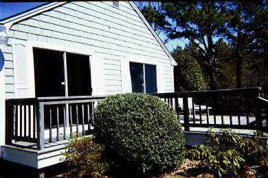 Dennis Cape Cod vacation rental - Large Sunny South Facing  Deck