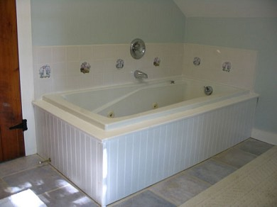 South Dennis Cape Cod vacation rental - Jacuzzi in upstairs bathroom