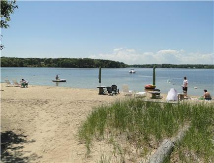 South Dennis Cape Cod vacation rental - 5 minute walk to Follins Pond beach...