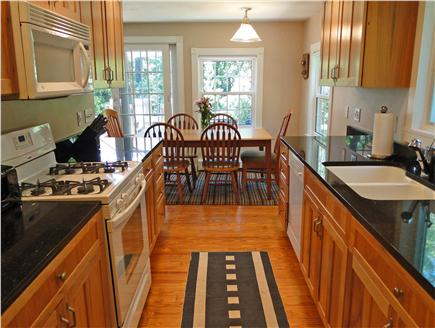 South Dennis Cape Cod vacation rental - Kitchen with granite counters and all new appliances