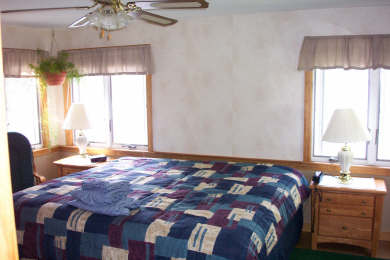 Centerville Centerville vacation rental - Master bedroom with King bed and full bath overlooks the lake