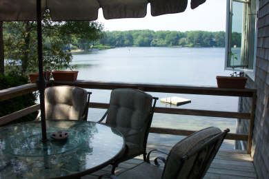Centerville Centerville vacation rental - Lake view  from the upper deck