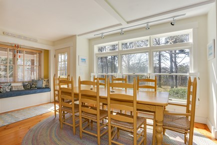 East Orleans Cape Cod vacation rental - Dining Area and Window Seat