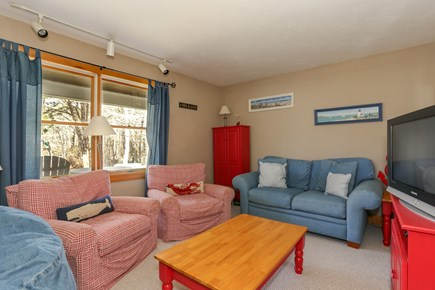East Orleans Cape Cod vacation rental - Cozy First Floor Den with TV and DVD