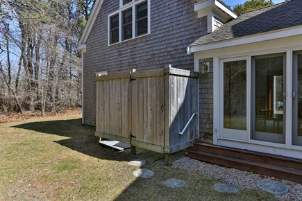 East Orleans Cape Cod vacation rental - Backyard and Outdoor Shower