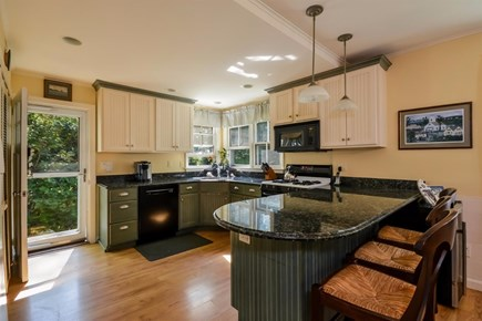 Cotuit Cotuit vacation rental - Granite kitchen - plenty of room to prepare food for a group!