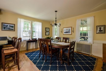 Cotuit Cotuit vacation rental - Dining room  - extra leaves available for table.