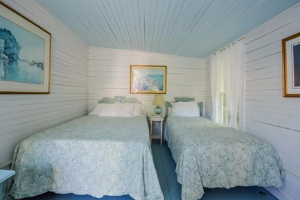 Cotuit Cotuit vacation rental - Bedroom #5 in the annex - 1 full bed, 1 twin