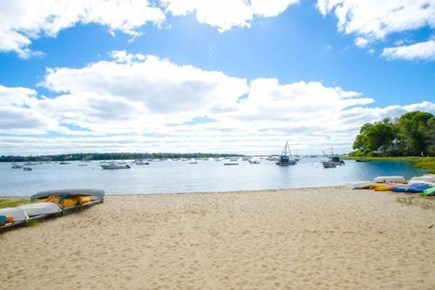 Cotuit Cotuit vacation rental - Ropes Beach 2/10 mi from house. Watch the daily sailboat races!