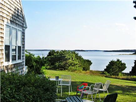 East Orleans Cape Cod vacation rental - Enjoy your meals looking over the water