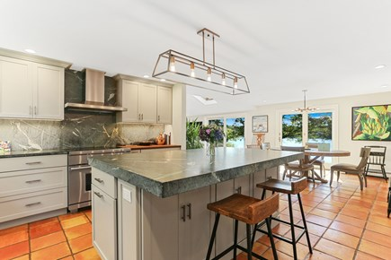 Chatham Cape Cod vacation rental - Open concept kitchen with water view
