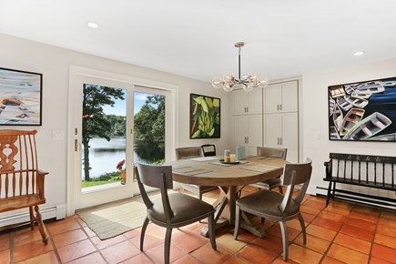 Chatham Cape Cod vacation rental - Enjoy your meals while overlooking the water