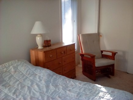 Wellfleet Cape Cod vacation rental - Master Bedroom sitting area