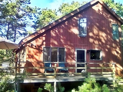 Wellfleet Cape Cod vacation rental - Contemporary Saltbox Nestled in Woods