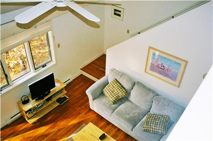 Wellfleet Cape Cod vacation rental - Living room as seen from balcony