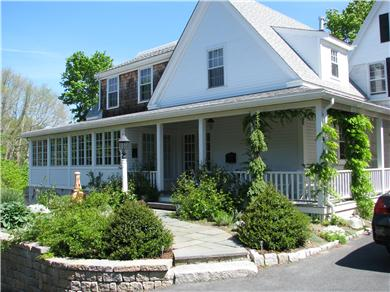 Centerville Centerville vacation rental - Roses and wisteria add to the historic charm