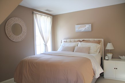 Centerville Centerville vacation rental - This bedroom's peaceful color palette invites relaxation.
