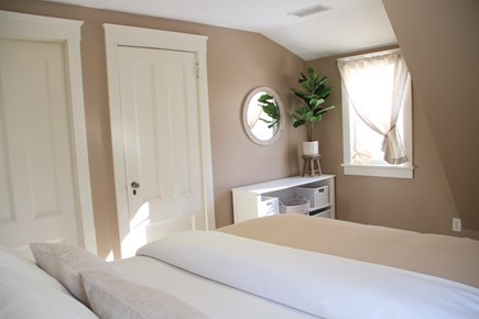 Centerville Centerville vacation rental - Top floor bedroom has charming angles and also a walk-in closet.