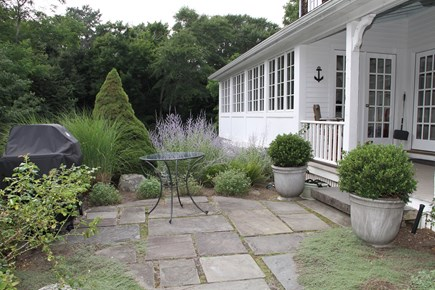 Centerville Cape Cod vacation rental - Grill right off of wrap-around front porch & patio!