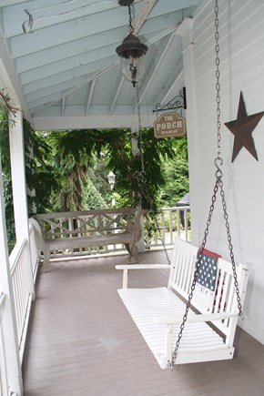 Centerville Cape Cod vacation rental - Relax in the swing on the wrap around porch.