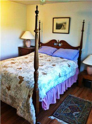 Truro Cape Cod vacation rental - Double four poster bed