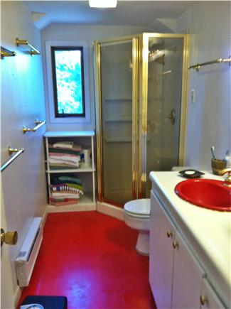 Truro Cape Cod vacation rental - Upstairs Bathroom