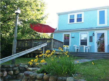 Truro Cape Cod vacation rental - From the rock wall