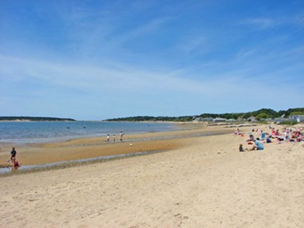 Wellfleet Harbor & Beach Cape Cod vacation rental - Beautiful Mayo Beach on Cape Cod Bay is just 2/10 mile away!