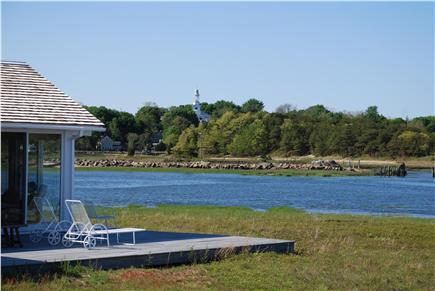 Wellfleet Harbor & Beach Cape Cod vacation rental - We overlook Duck Creek and the harbor