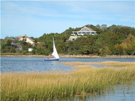 Wellfleet Harbor & Beach Cape Cod vacation rental - We are in the midst of a dramatic Cape natural scene