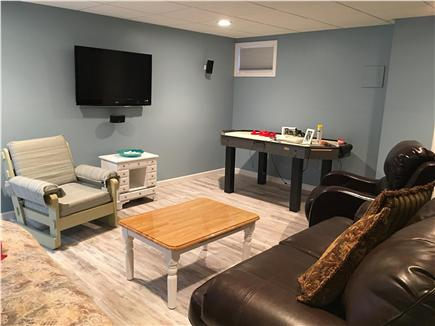 Bass River / South Yarmouth Cape Cod vacation rental - The cool cellar home theatre!