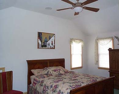 Bass River / South Yarmouth Cape Cod vacation rental - Master queen bedrooms with ceiling fans