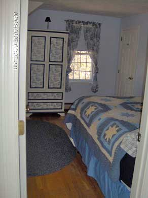 Dennis Cape Cod vacation rental - Master Bedroom - view from entrance