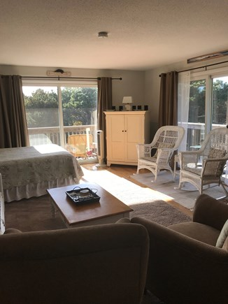 North Truro Cape Cod vacation rental - Living and sleeping area