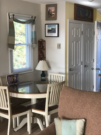 North Truro Cape Cod vacation rental - Open Living and Dining Area