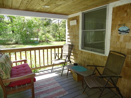 West Yarmouth Cape Cod vacation rental - Sitting area - part of wrap around porch