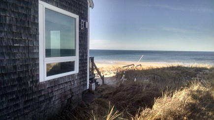 East Sandwich Cape Cod vacation rental - Fabulous Views of Our Private Beach & Cape Cod Bay From Our Deck