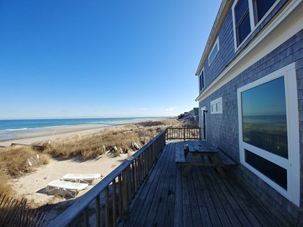 sandwich Cape Cod vacation rental - Enjoy spectacular views of Cape Cod Bay from Beach Front Deck