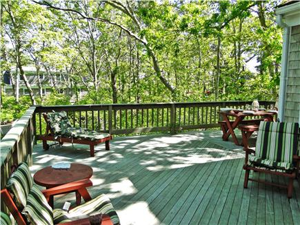 So. Harwich/So. Chatham Cape Cod vacation rental - Large wrap around deck w/seating for ten; great for entertaining