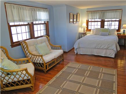 So. Harwich/So. Chatham Cape Cod vacation rental - Large upstairs Master BR w/Queen bed and sitting area