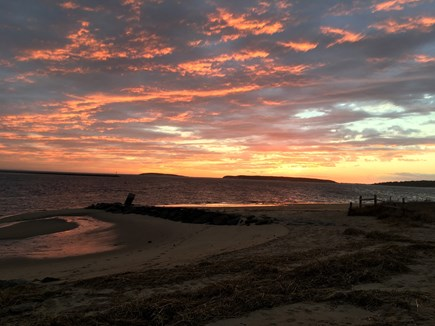Wellfleet Center Cape Cod vacation rental - Walk to Mayo Beach for spectacular sunsets