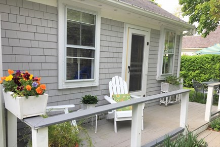 Wellfleet Center Cape Cod vacation rental - Cape Codders enter our homes through the back kitchen door