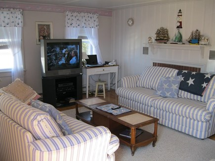 East Falmouth Cape Cod vacation rental - Comfortable living room