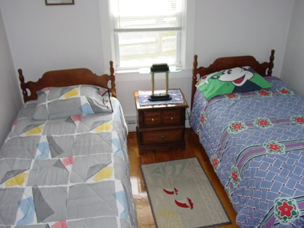 East Falmouth Cape Cod vacation rental - 2 Twin beds 2nd bedroom