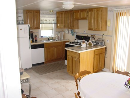 East Falmouth Cape Cod vacation rental - Kitchen/all new appliances
